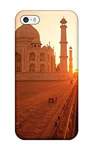 New Style Case Cover For Iphone 5/5s - Retailer Packaging The Taj Mahal At Sunset India Protective Case