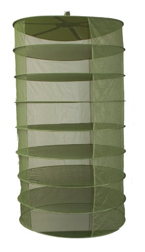 GROW1 3-Ft Plant Crop Harvest Drying Fabric Tiered Dry Rack