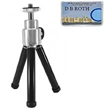 "8"" Professional STEEL Table Top Tripod For The Kodak Easyshare CX7530, CX7430, CX7330, CX7300, CX7220, DX6440, DX6340, DX4530, CX6330, CX6230, CX6200, CX4300, DX4330, CX4200, CX4230, DX3215, DX3700 Digital Cameras"