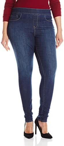 Levi's Women's Plus-Size Perfectly Slimming Pull-On Skinny