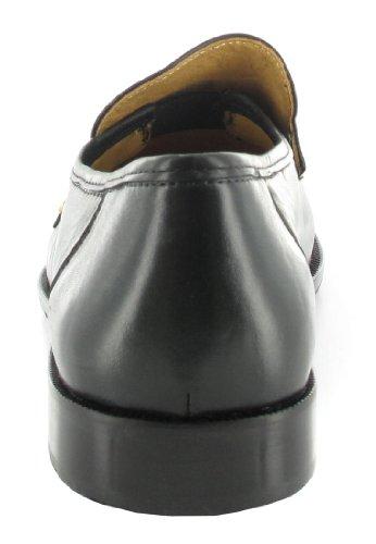 SALE - FRETZ MEN - Herren Mokassin - Schwarz Schuhe in Übergrößen