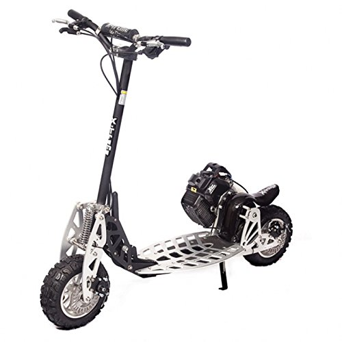 (The FASTEST Gas Scooter Model XG-575-DS A-Blaze Signature Series 2 Speed Black)