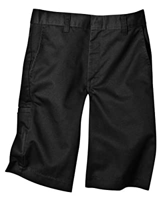 Dickies Boys' Flex Waist Flat Front Short