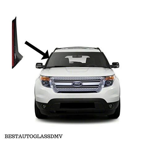 (TYG DW1843 (R) Windshield Trim Molding for Ford Explorer Windshield-Outer Pillar Passenger Side R/H)