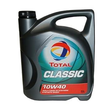 Total 156357 Classic 10W-40 Aceites de motor para coches 5 litros: Amazon.es: Coche y moto