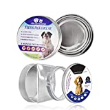 2 Pack Flea Tick Control Adjustable Waterproof Collar Protect Dogs/Cats - Last 8
