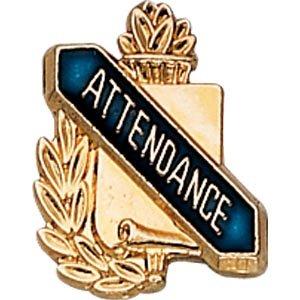 [Lapel Pins (10-Pack): Scholastic Award Pin - Attendance] (Attendance Award Pin)