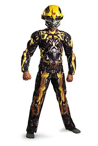 Transformers Bumblebee Classic Muscle Kids (Raven Superhero Costume For Kids)