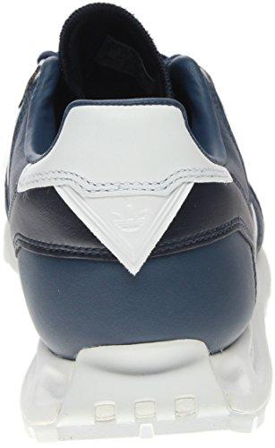 Degli Uomini Di Adidas Bianco Alpinismo Di Corsa 1 Collegiale Navy / Bianco Calzature