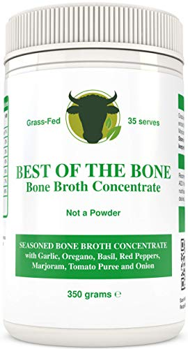 BONE BROTH Premium Beef Bone Broth Concentrate Italian Herb - 100% Sourced From AU Grass-Fed, Pasture-Raised Cattle - Healthier Skin & Nails, Healthy Digestion