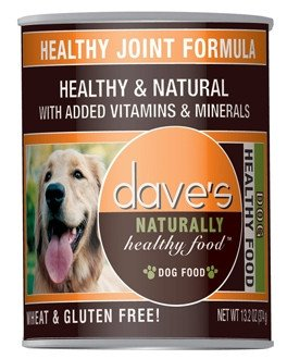 Cheap Dave's Naturally Healthy, Healthy Joint Formula for Dogs, 13 oz Can (Case of 12)