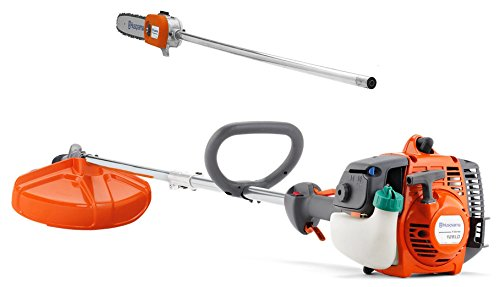 Husqvarna 128LDX 28cc Trimmer with 12-Inch Detachable Pole Saw