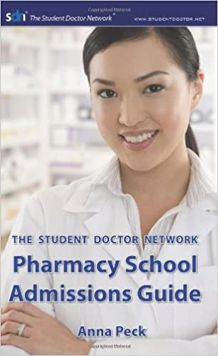 Book The Student Doctor Network Pharmacy School Admissions Guide