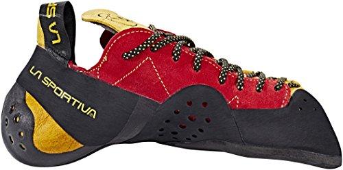 red Sportiva yellow 45 La avvolgente Performante Scarpetta Testarossa wPxppq7X