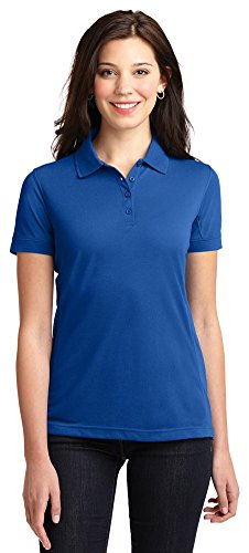 (Port Authority Ladies 5-in-1 Performance Pique Polo, Cobalt Blue, XX-Large)