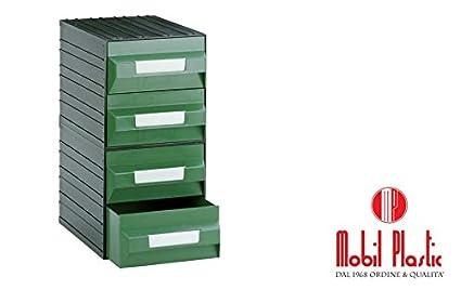 Cassettiere Mobil Plastic.Cassettiere Mobil Plastic Mobil 1 Composte Da 4 Cassetti