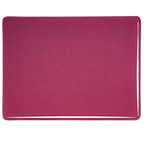 90COE Made From Bullseye Glass 4oz Cranberry Pink Transparent Fusible Glass Coarse Frit