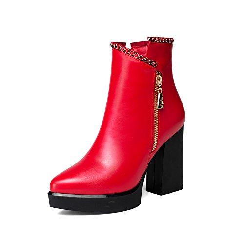 Chukka Balamasa Balamasa Femme Bottes Bottes Red S7PxTn8
