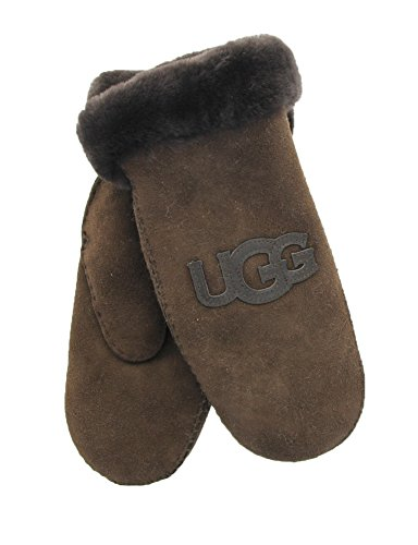 UGG Women's Heritage Logo Mitten Chocolate Multi SM/MD