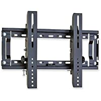 Bretford FPLMFFP, Flat Panel Flush Wall Mount, 100lb. Capacity, 22 in.x3-1/2 in.x8-3/4 in., Black