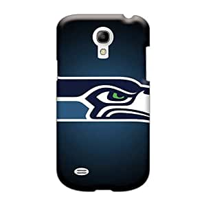 Scratch Resistant Cell-phone Hard Covers For Samsung Galaxy S4 Mini (KSL2972NIUD) Allow Personal Design Fashion Seattle Seahawks Skin