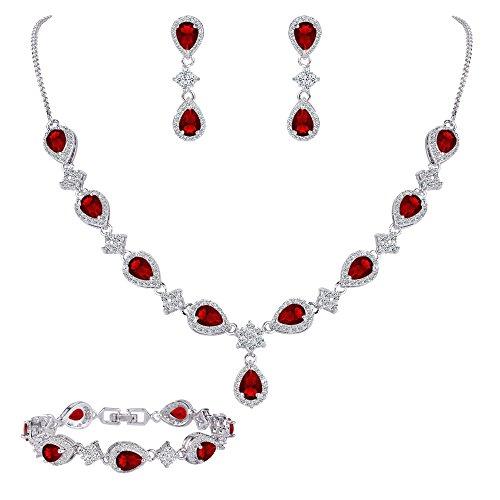 Cubic Zirconia Necklace : Accessories Jewelry - 5