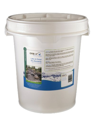 (Orb-3 Lake and Pond Dry Bacteria Pail Bulk, 10-Pound)