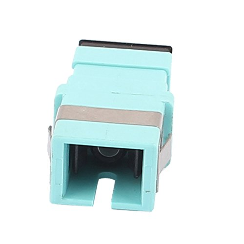 Aexit SC/SC Simplex Transmission Multimode Fiber Optical Flange Adapter Cable Connector