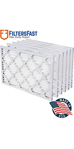 "10x20x1 1"" Pleated Air Filter Merv 11 - 6 pack by Filters Fast"