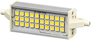 Wentronic R7s 118 Ambient - Lámpara LED (Gris, Color blanco, Blanco cálido, 220 - 240 V, 35 mm, 27 mm, 118 mm)