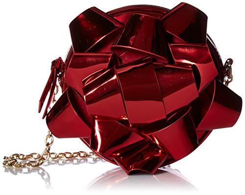 Betsey Johnson Wrap Me Up Crossbody Bag, red (Betsey Johnson Handbags Red)