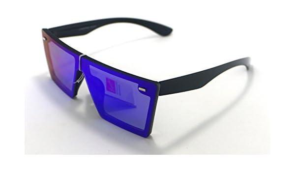 Gafas de Sol Hombre Mujer Lente Plana Lagofree W7037 Espejo ...