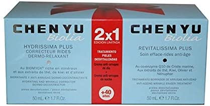Chen Yu Chen Yu Biolia 2x1 Edicion Limitada Biolia Hydrissima Plus 50ml Biolia Revitalissima Plus 50ml 100 Ml Amazon Es Belleza