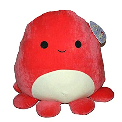 Squishmallow Kellytoy Veronica The Octopus 8 Inch Plush Toy: Toys & Games