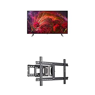 "Samsung QN65Q8F Flat 65"" QLED 4K Ultra HD Smart TV (2018) and Sanus MLF13-B1 Universal Wall Mount (B07KTW6JNC) 