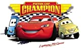 5 Inch Piston Cup Lightning McQueen Wall Decal Sticker 95 Disney Pixar Cars 3 Movie Removable Peel Self Stick Adhesive Vinyl Decorative Art Room Home Decor Kids Room Racing Decor 5 1/2 by 3 inch