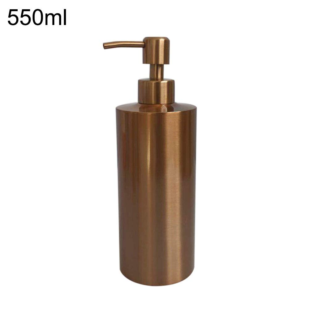 New arrival 250/350/550ml Cheaper Stainless Steel Liquid Soap Dispenser Kitchen Sink Soap Box Chrome Soap Bottle drop shipping