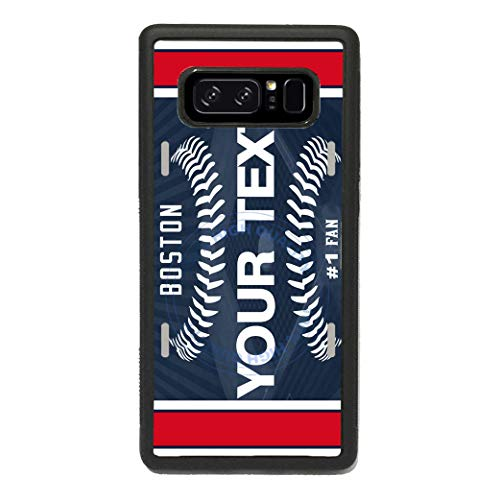 - BRGiftShop Personalized Custom Name Baseball Team Boston Rubber Phone Case for Samsung Galaxy s10 Plus