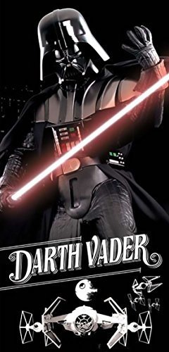 Star Wars Darth Vader Ready for Battle Beach Towel (Towels Adult Beach)