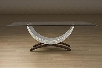 Couchtisch Aus Marmor Und Glas Mit Grundlegenden Sitz Modell
