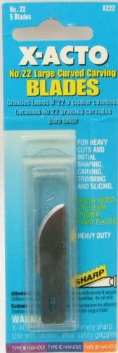 e Curved Carving Blade 5 Count ()