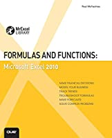 Formulas and Functions: Microsoft Excel 2010 Front Cover