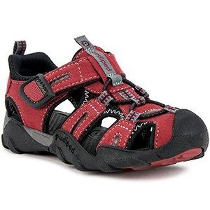 pediped Boys' Canyon Water Shoe, red, 26 Regular EU