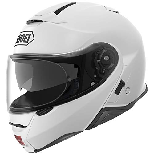 Shoei Solid Neotec 2 Modular Motorcycle Helmet - White/Medium -  0116-0109-05
