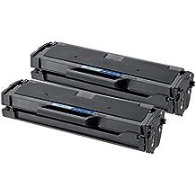 4Benefit 2 Pack Black Compatible Samsung MLT-D101S Toner 1.5K Yield (ML-2165W, SF-760P, SCX-3405FW)