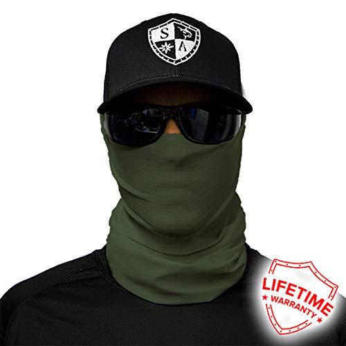 Bandana Balaclava Face Shield Tática Verde Exército