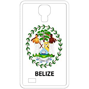 Belize - Country Coat Of Arms Flag Emblem White Samsung Galaxy S4 i9500 Cell Phone Case - Cover
