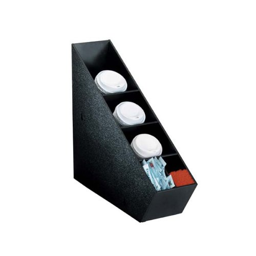 5 Section Polystyrene Coffee/Soda Lid Dispenser