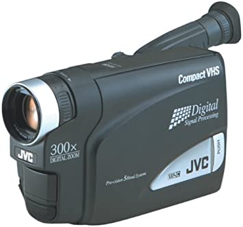 Amazon Com Jvc Gr Ax750u Palm Size Compact Vhs Camcorder Discontinued By Manufacturer Camera Photo