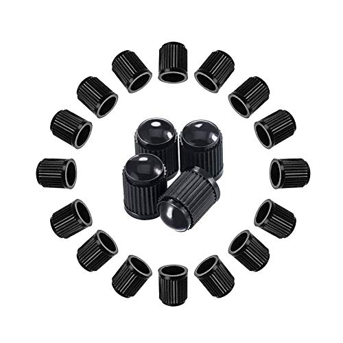 A ABIGAIL Tire Valve Caps Universal Stem Covers (30 PCS) for Cars, SUVs, Bike and Bicycle, Trucks, - Audi 1987 4000 Valve
